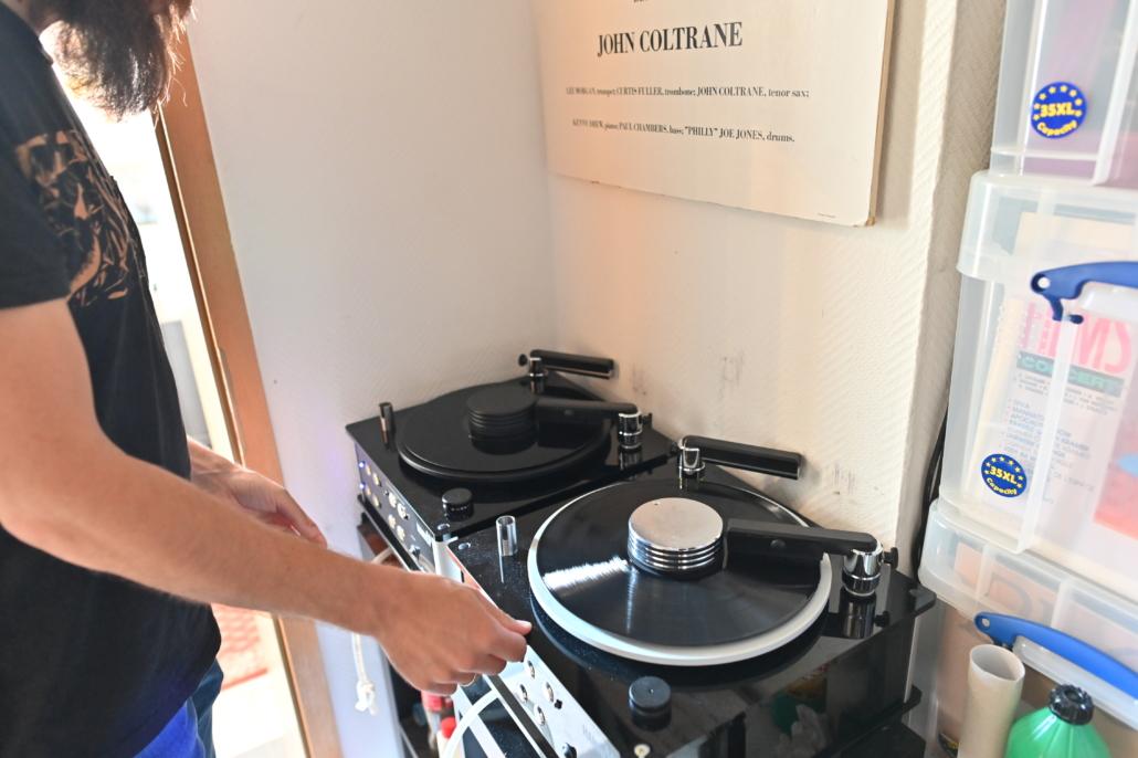 Ladengeschäft LP-Reinigung Schallplatten An- und Verkauf Frankfurt
