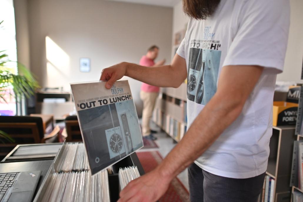 Ladengeschäft Sortiment Schallplatten An- und Verkauf Frankfurt