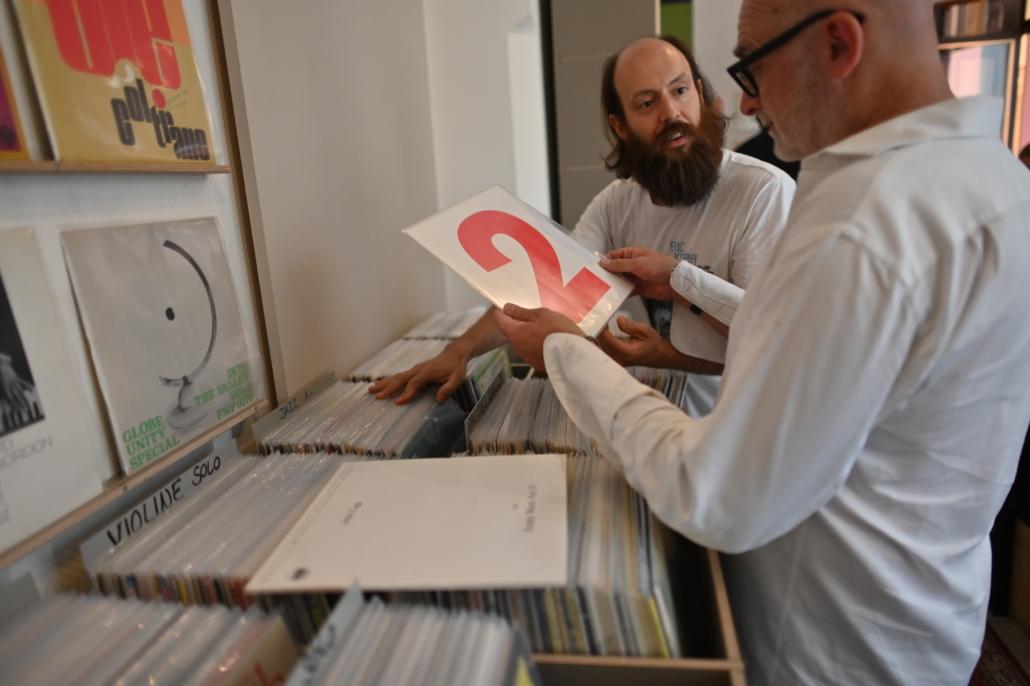 Ladengeschäft Schallplatten An- und Verkauf