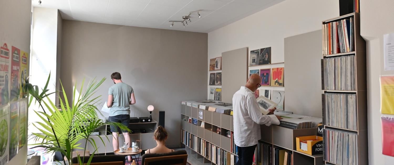 Ladengeschäft Schallplatten Ankauf Frankfurt 1