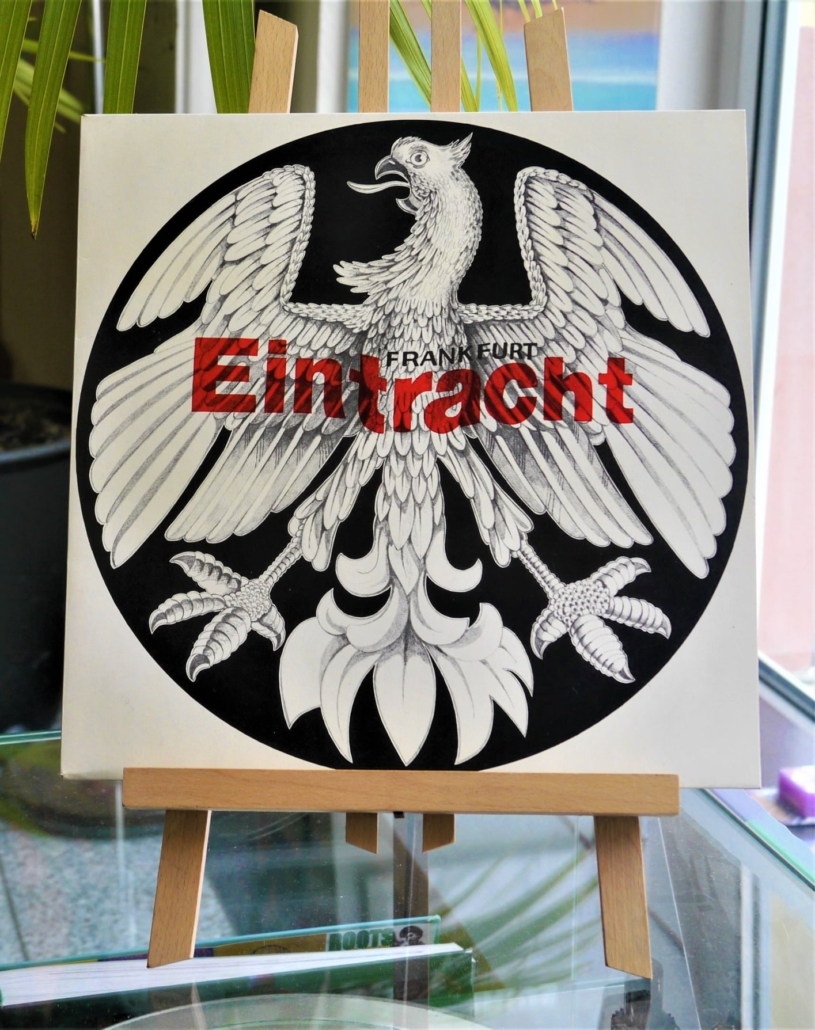 benefizauktion eintracht fan platte