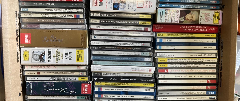 Beispielfoto CDs Ankauf