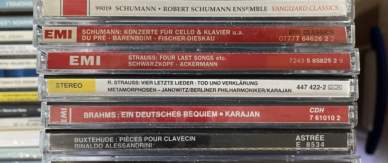 Ankauf CDs Beispielfoto